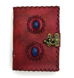 2 Lapis Stones Leather - Journal