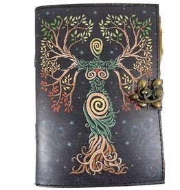 Fantasy Gifts Soft Leather Journal Goddess Colour 5 x 7