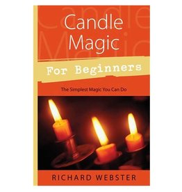 Richard Webster Candle Magic for Beginners by Richard Webster