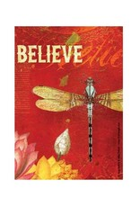 Believe (Dragonfly) - Greeting Card