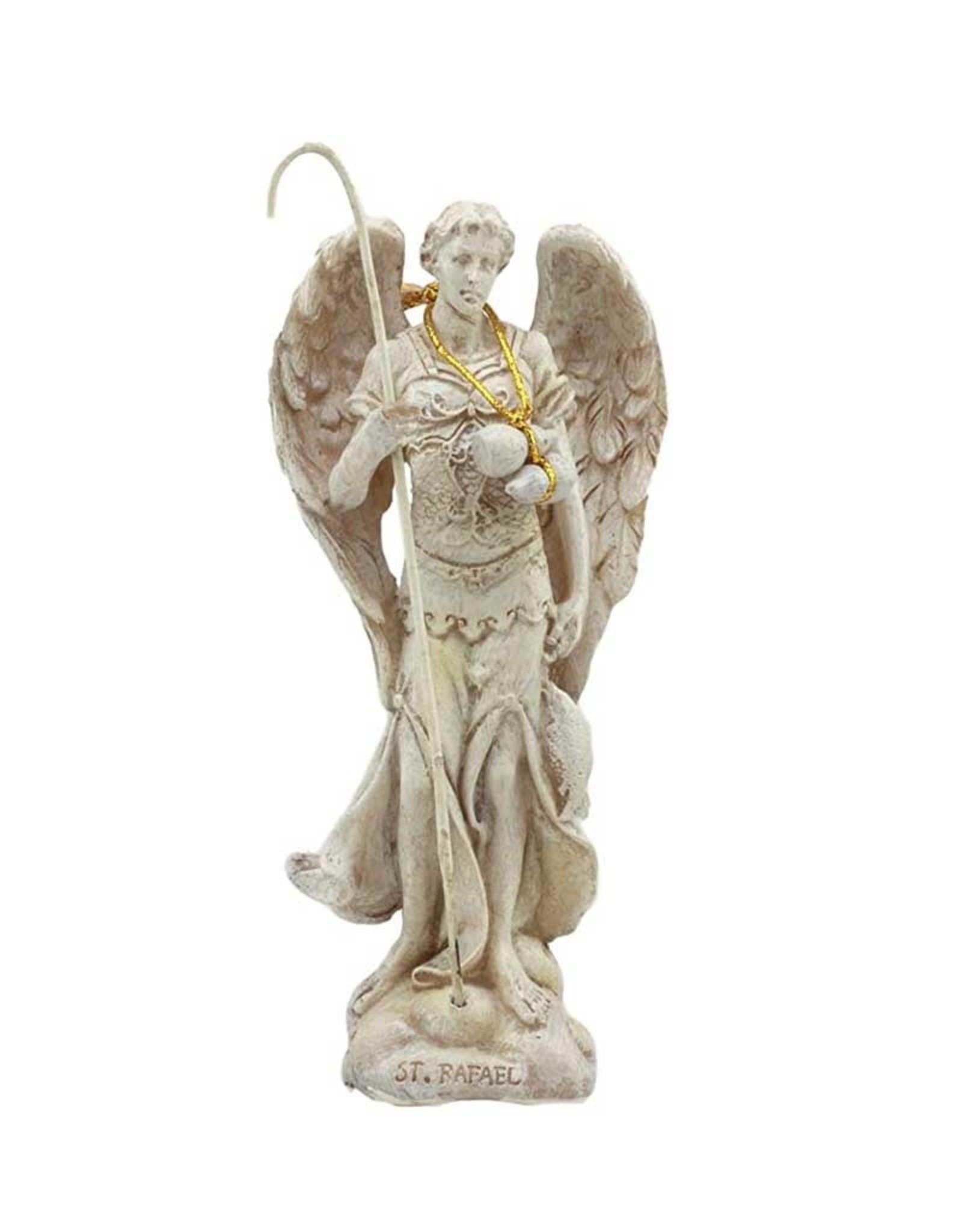 "Archangel Raphael Statue 5"" - Ivory"