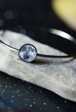 Bangle Silver Galaxy - Moon