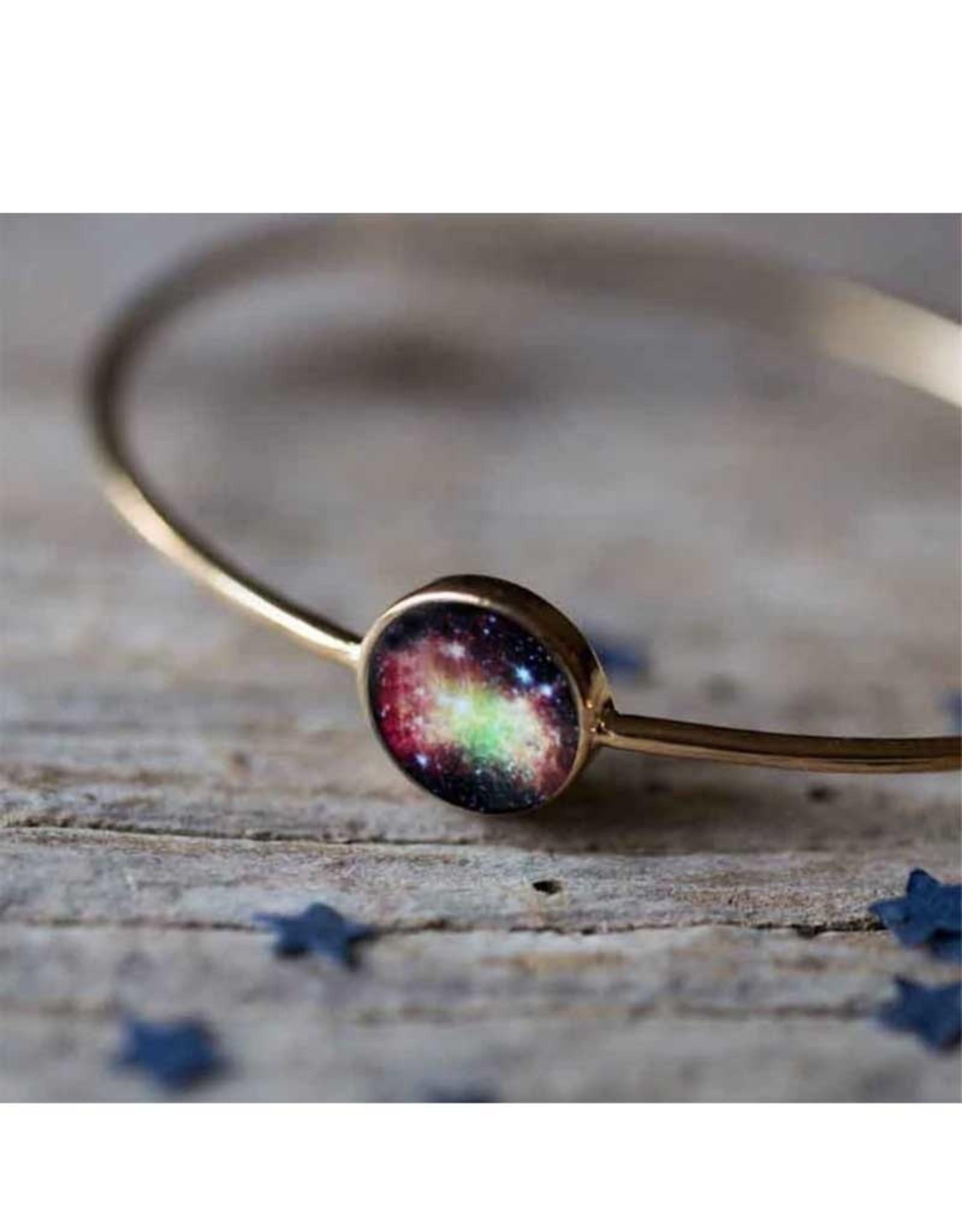 Bangle Gold Galaxy - Dumbell Nebula