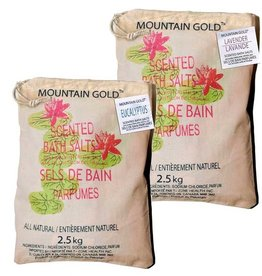 T-Zone Mountain Gold Bath Salt 2.5kg - Rose