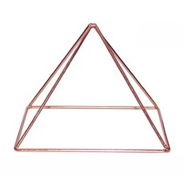 """Copper Energizing Pyramid 6"""" by 4.5"""""""