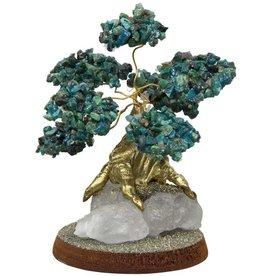 Chrysocolla Bonsai Gem Tree