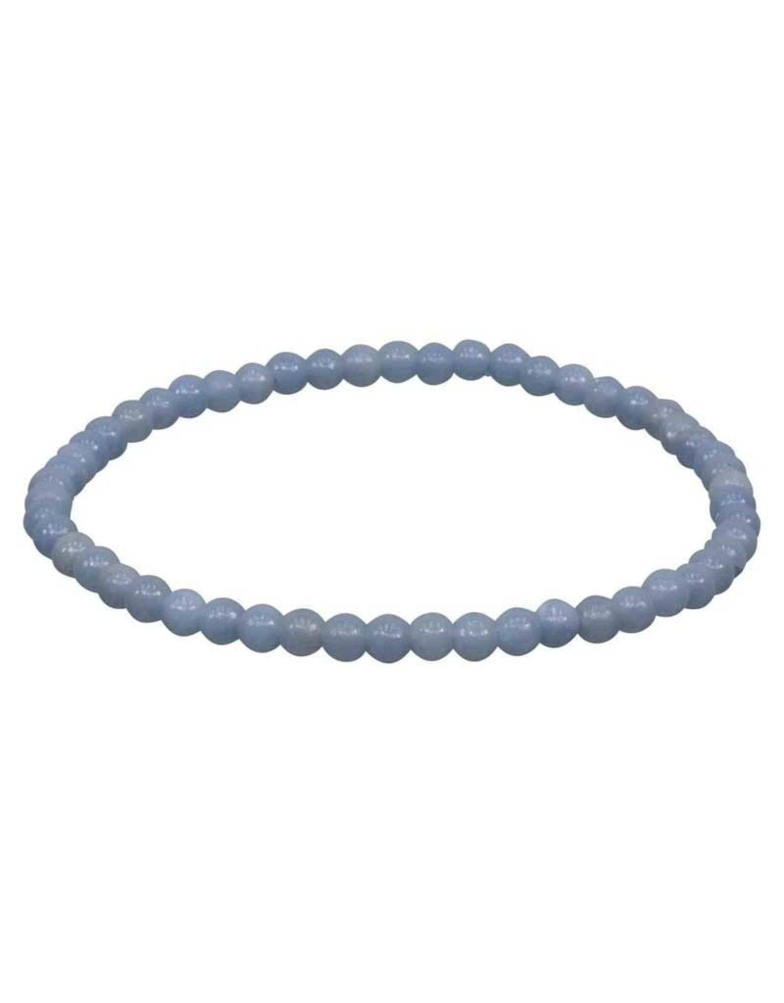 Angelite 4MM Bracelet