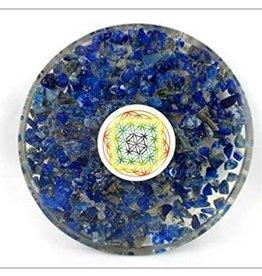 Lapis Lazuli Orgonite Coaster