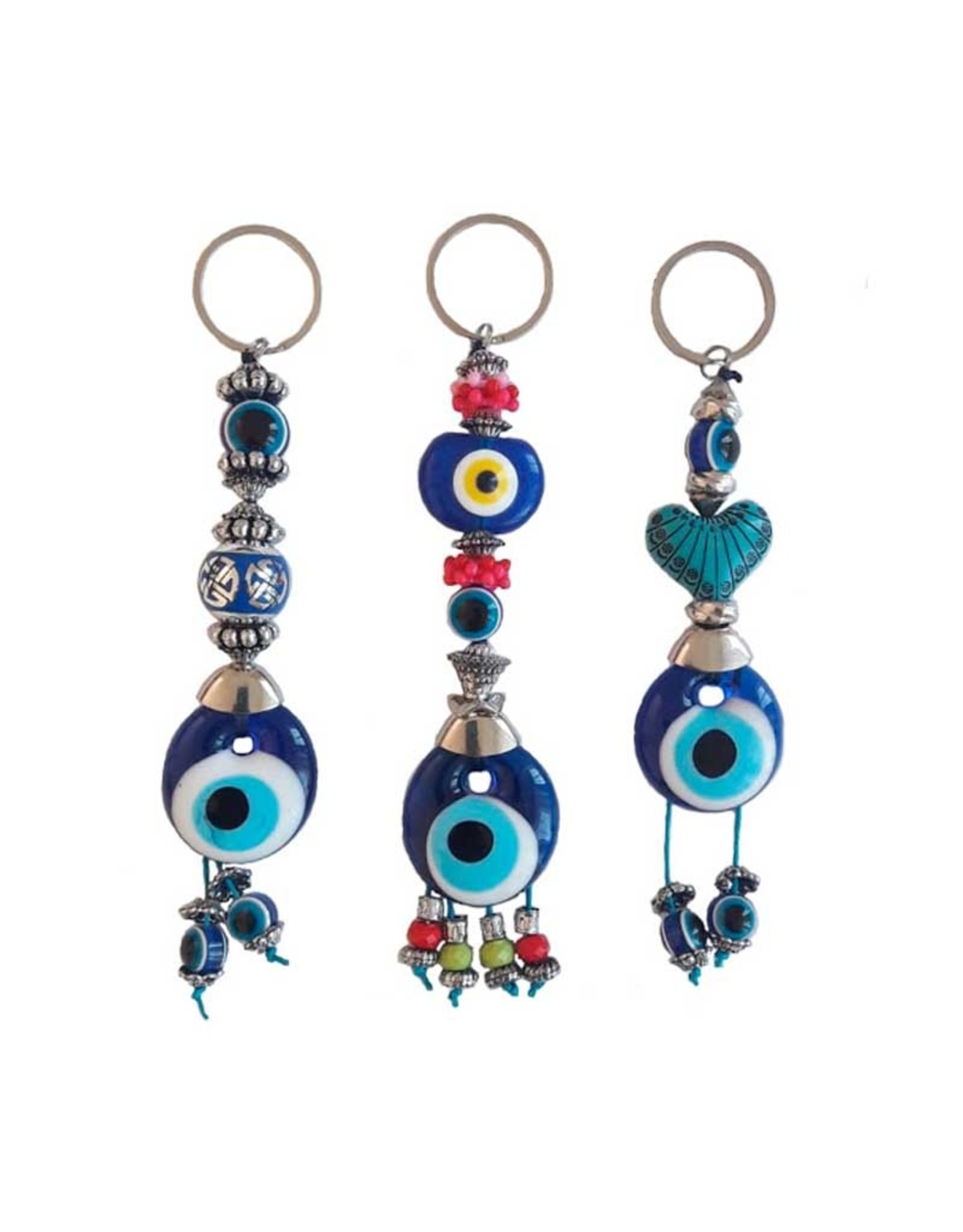 Assorted Evil Eye Keychain