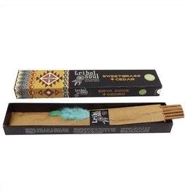 Tribal Soul Sweetgrass + Cedar Tribal Soul Incense Sticks