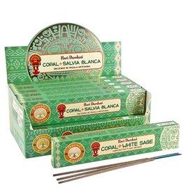 Hari Darshan Copal + White Sage Hari Darshan Incense Sticks