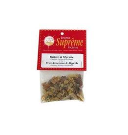 Supreme Incense Supreme Resin Frankincense & Myrrh