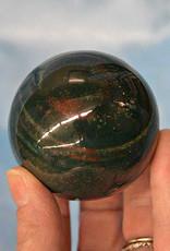 """Bloodstone Sphere 2.5"""""""