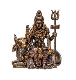 "Pacific Trading Lord Shiva Mini Statue - 1.5"" x 2.5"" x 2.75"""