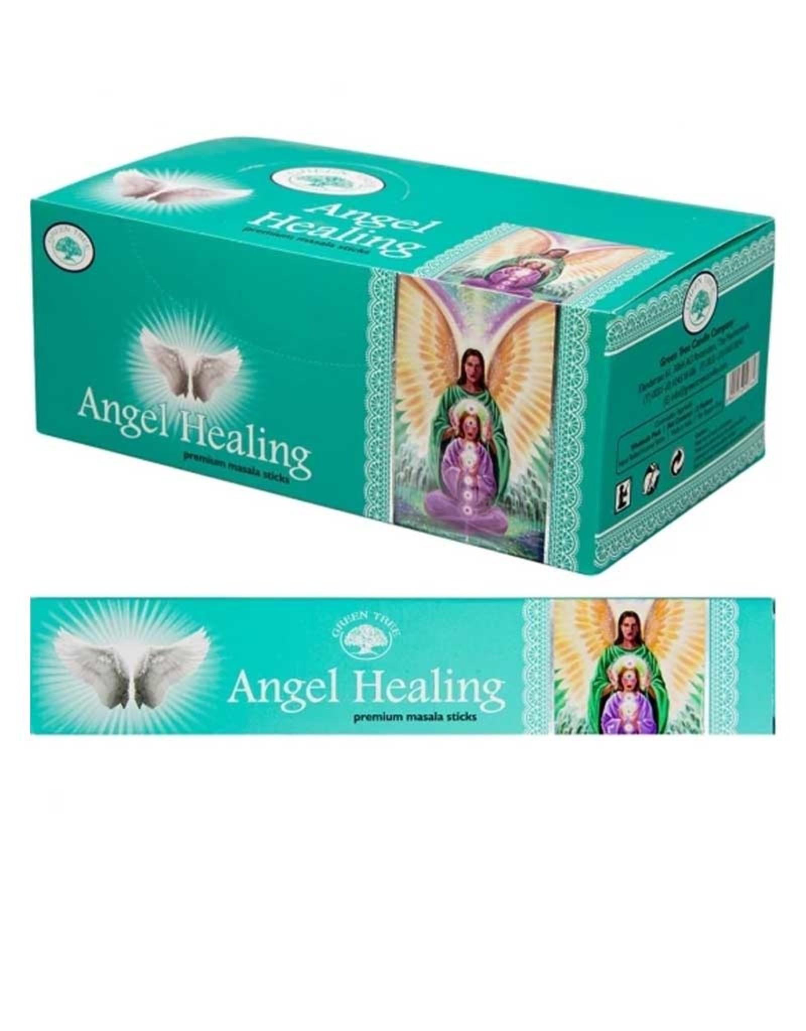 Angel Healing GREEN TREE Incense Sticks - 12g