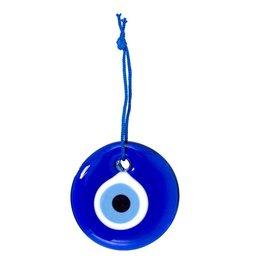 "Glass Evil Eye Talisman - 3.5"" Dia"
