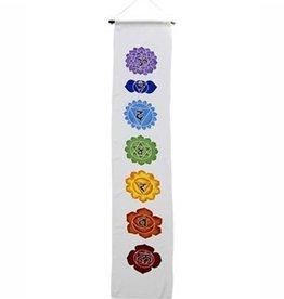 """Chakra Banner 12"""" x 62"""" - White Background"""