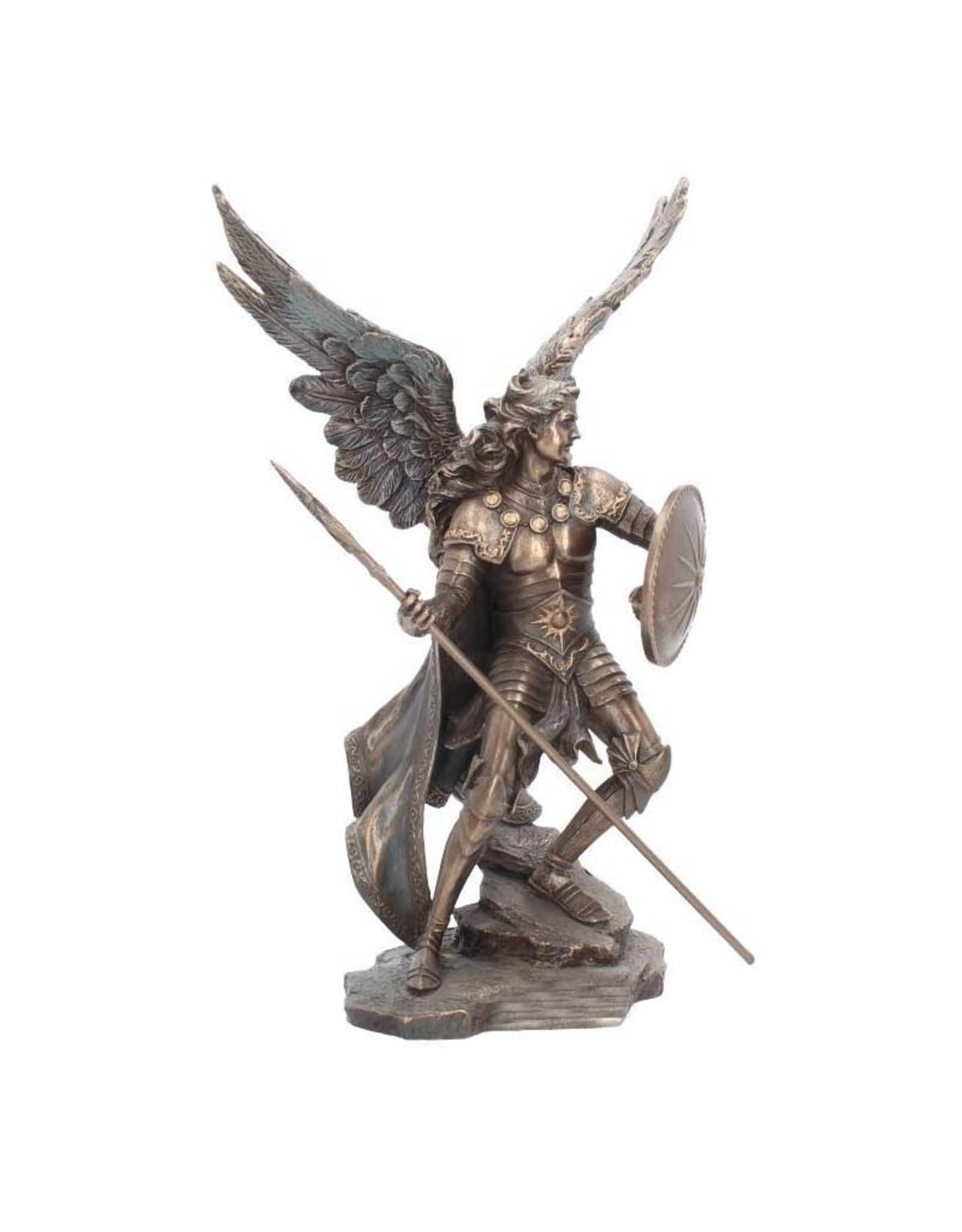 "Wise Unicorn Archangel Raphael Statue - 3 1/3"" x 1 7/9"" x  4 """