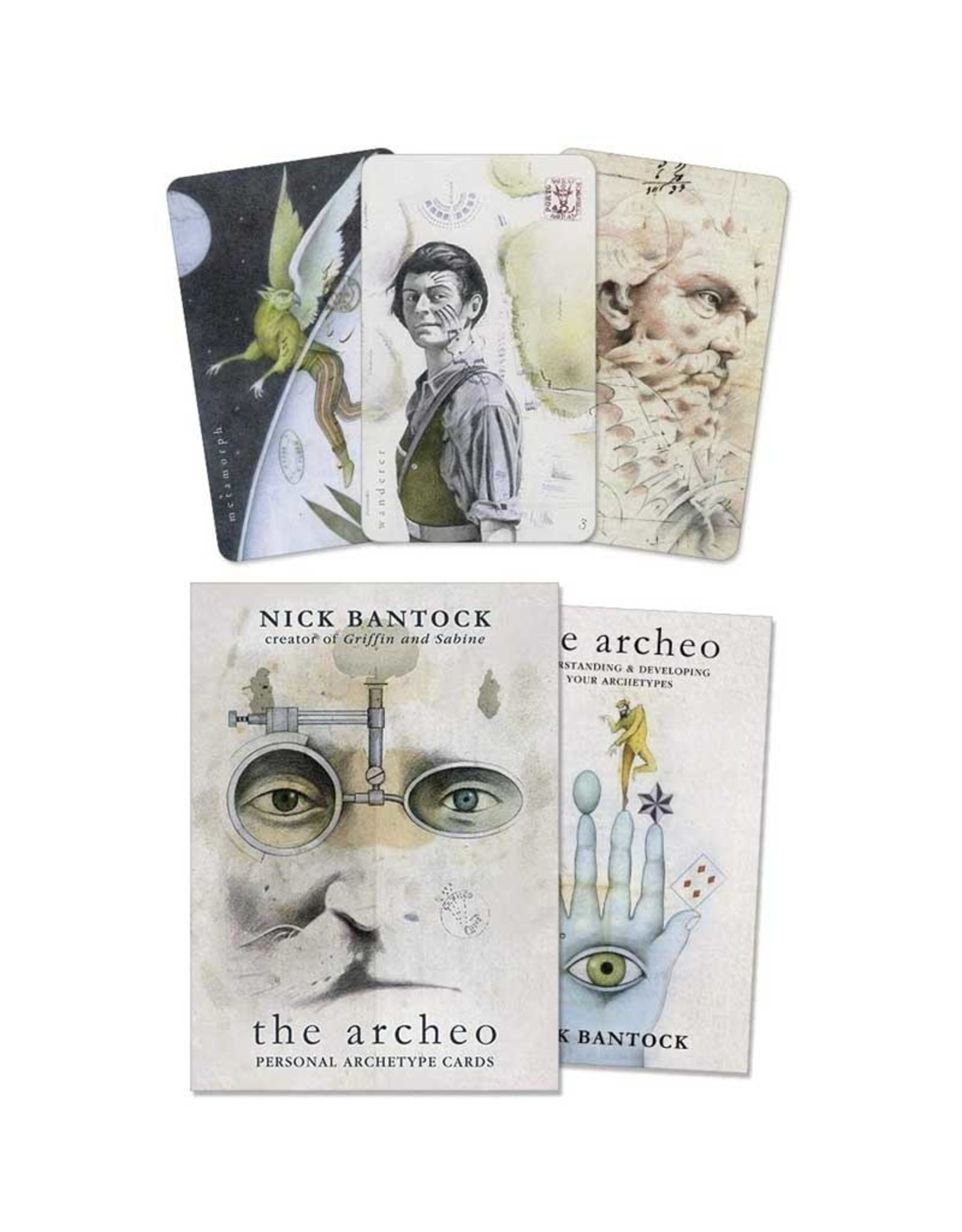 Archeo Archetype Oracle Cards by Nick Hantock