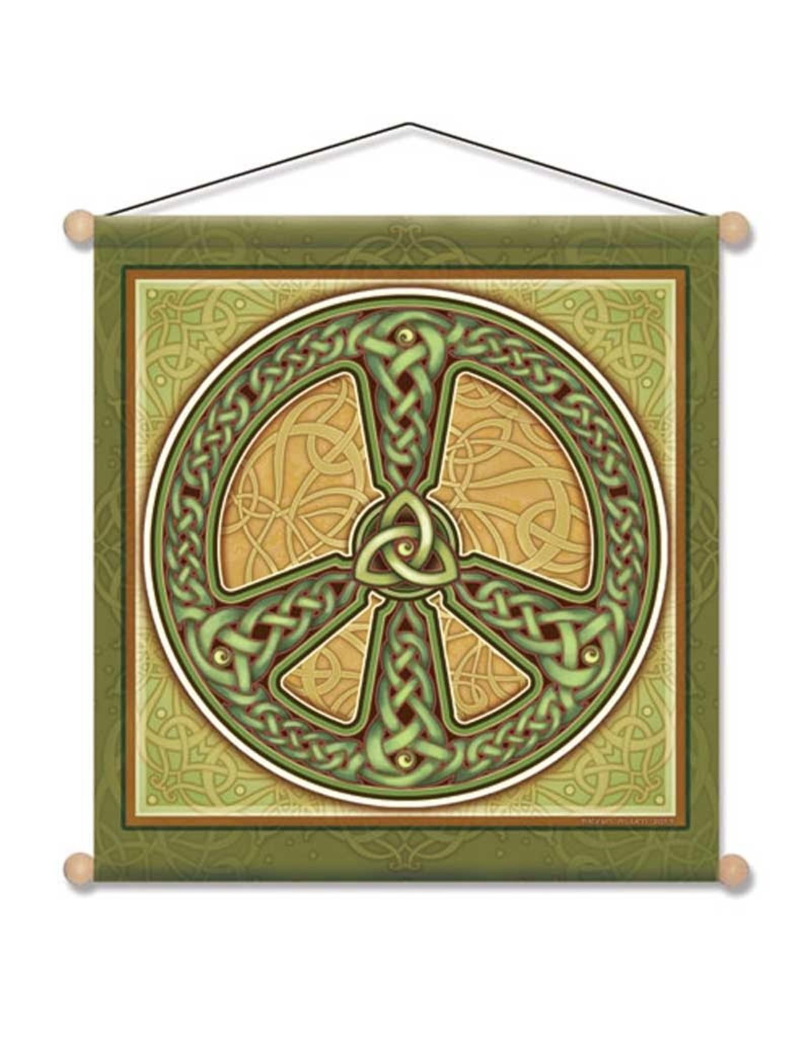 "Banner Celtic Peace 15"" x 15"""