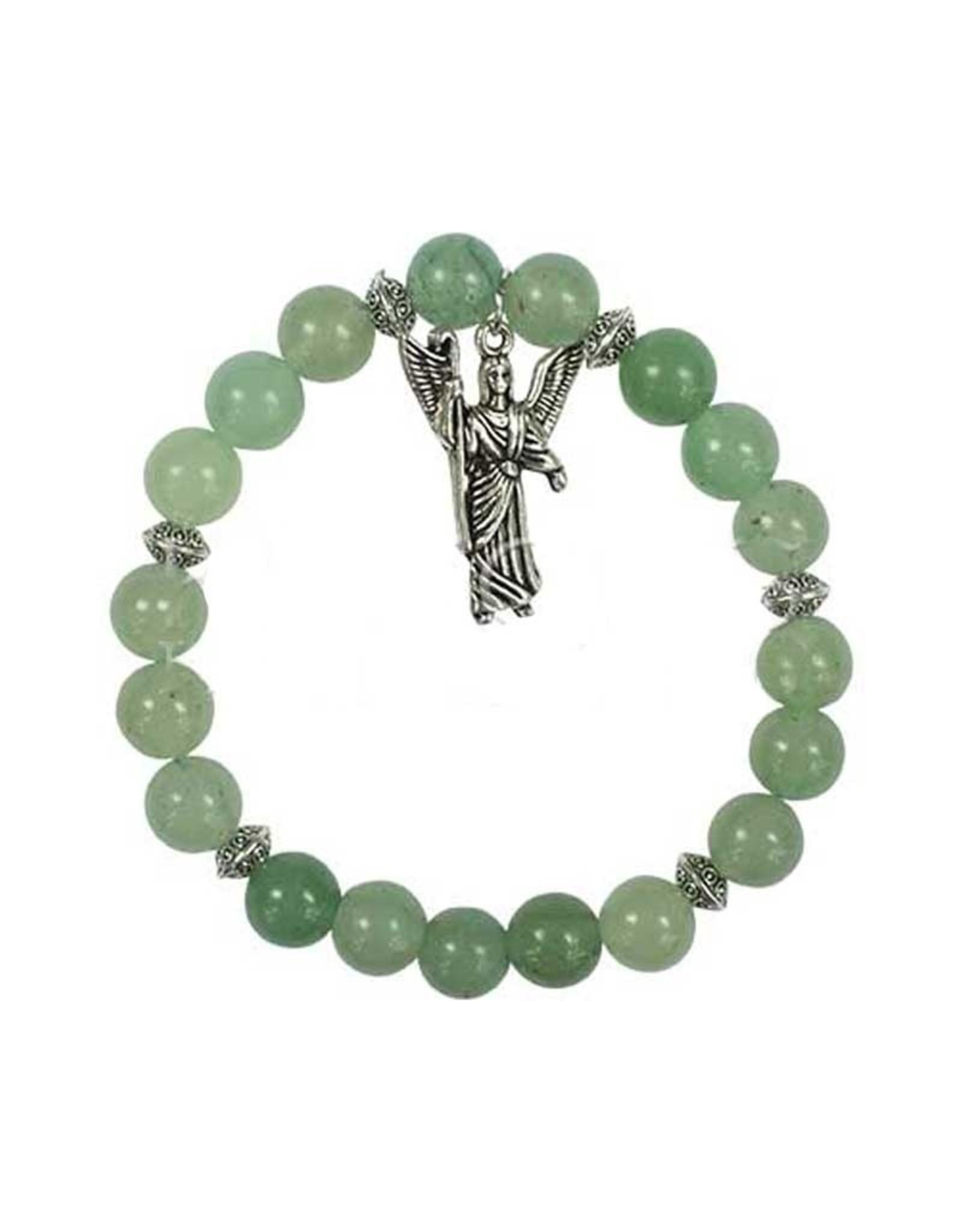Archangel Raphael Green Aventurine Bracelet