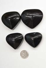 Rainbow Obsidian Heart $39