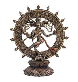 "Pacific Trading Shiva Nataraja Statue 8"" x 3"" x 9"""