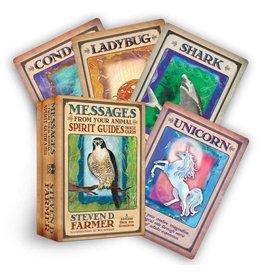 Steven D.  Farmer Messages From Your Animal Spirit Guide Oracle by Steven D. Farmer