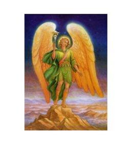 Archangel Raphael 5x7  Laminated Card