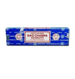 Satya Sai Baba Nag Champa SATYA Incense Sticks  - 100g