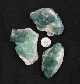 Green Fluorite Clusters $27