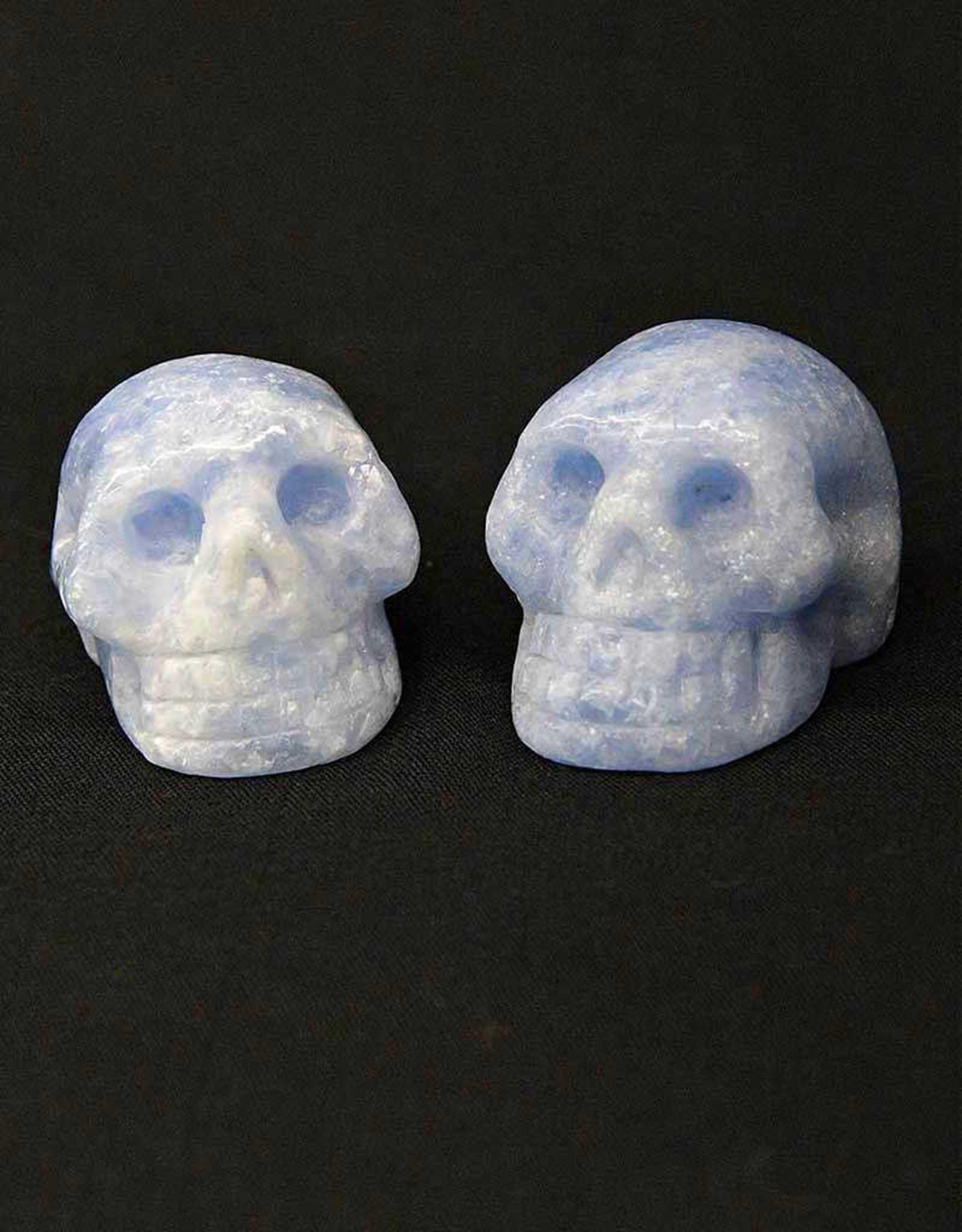 """Blue Calcite Skulls 2"""""""