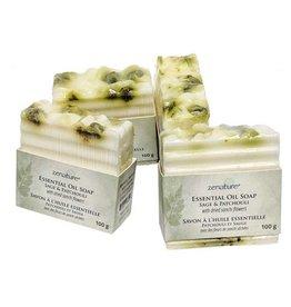 Zenature Essential Oil 100g Soap - Sage & Patchouli
