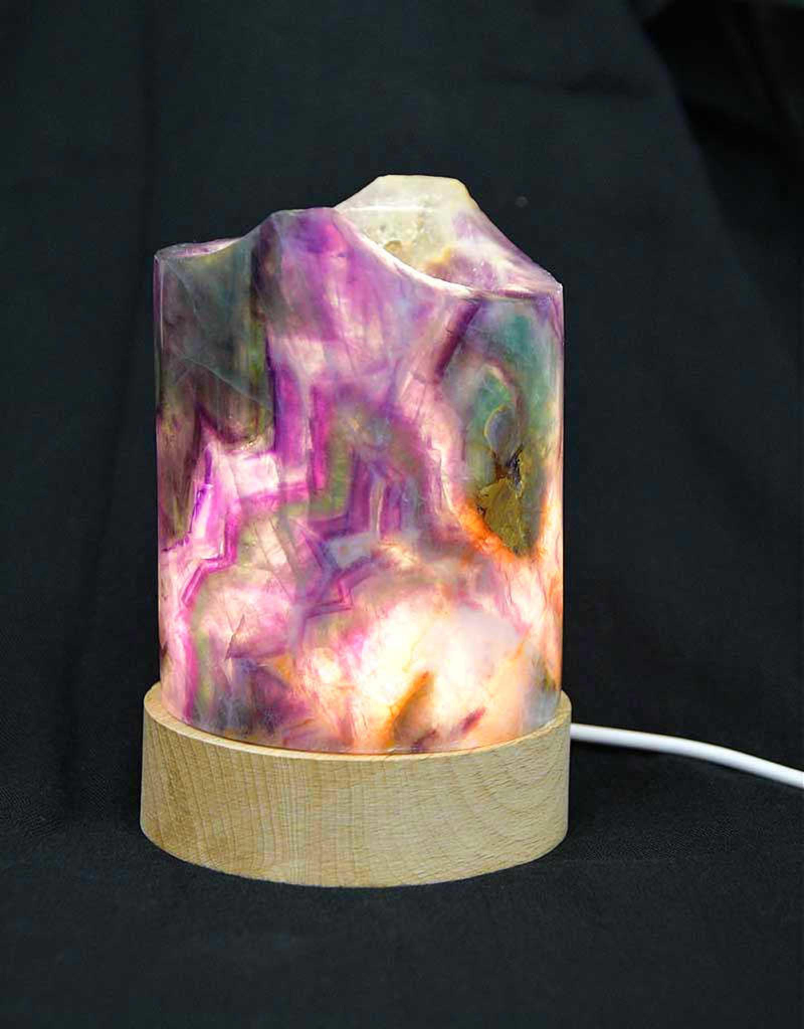Fluorite Lamps
