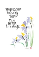 Amber Lotus A Million Little Things - Greeting Card