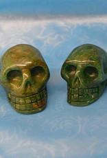 "Fuchsite Skulls 2"""