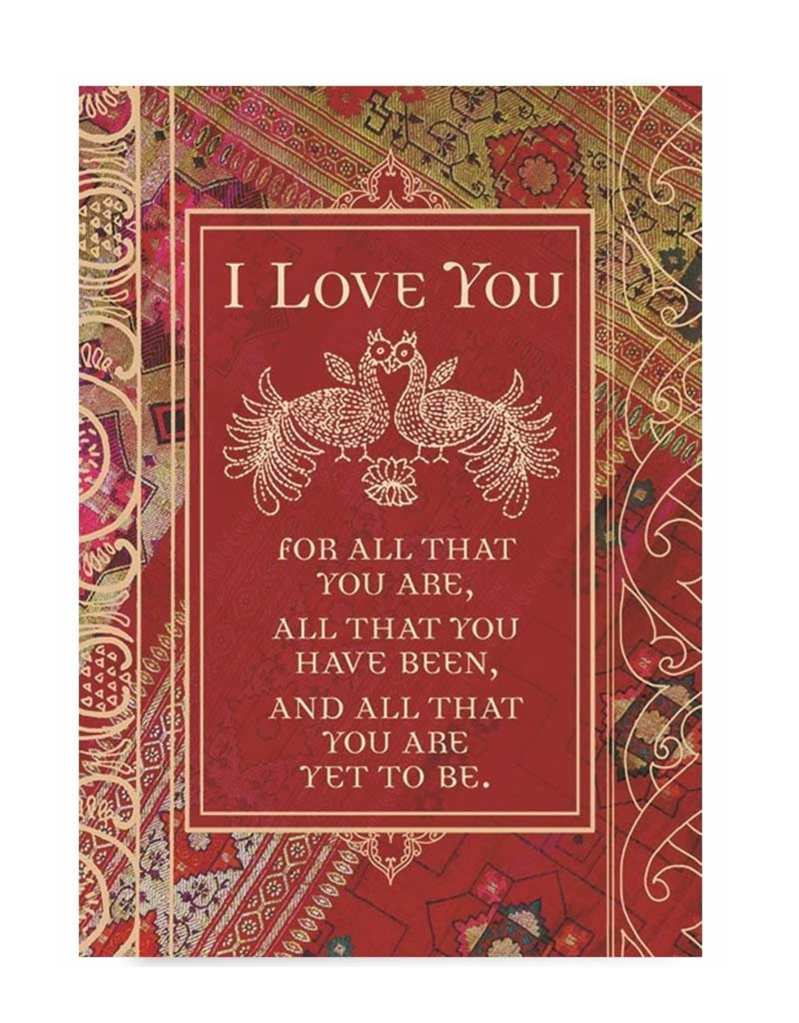 Amber Lotus All That You Are - Greeting Card