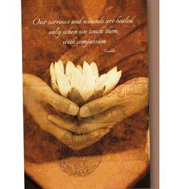 Tree - Free Greetings Awakening Lotus - 12 Notecards