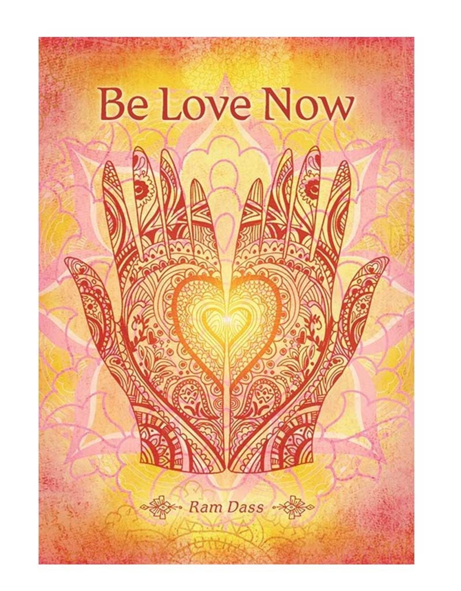 Amber Lotus Be Love Now - Greeting Card