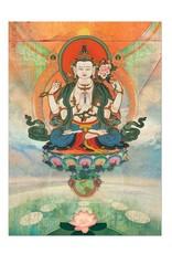 Tree - Free Greetings Buddha Meditation - Greeting Card