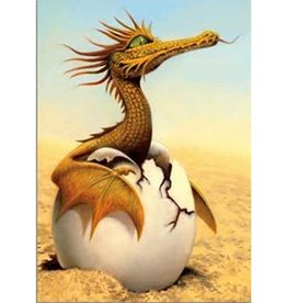 Tree - Free Greetings Dragon Hatching - Greeting Card