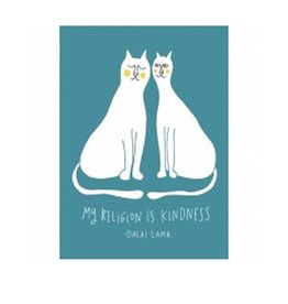 Tree - Free Greetings Kindness Cats - Greeting Card