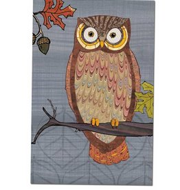 Tree - Free Greetings Awesome Owl - 12 Notecards