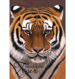 Tree - Free Greetings Tiger - 12 Notecards