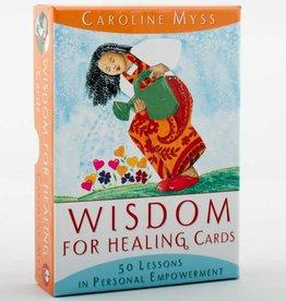 Caroline Myss Wisdom for Healing Cards by Caroline Myss