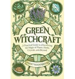 Paige Vanderbeck Green Witchcraft Book by Paige Vanderbeck