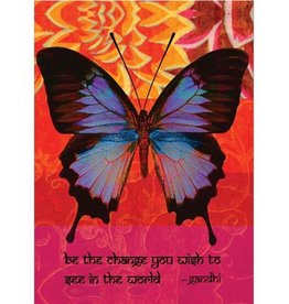 Tree - Free Greetings Be The Change - Greeting Card