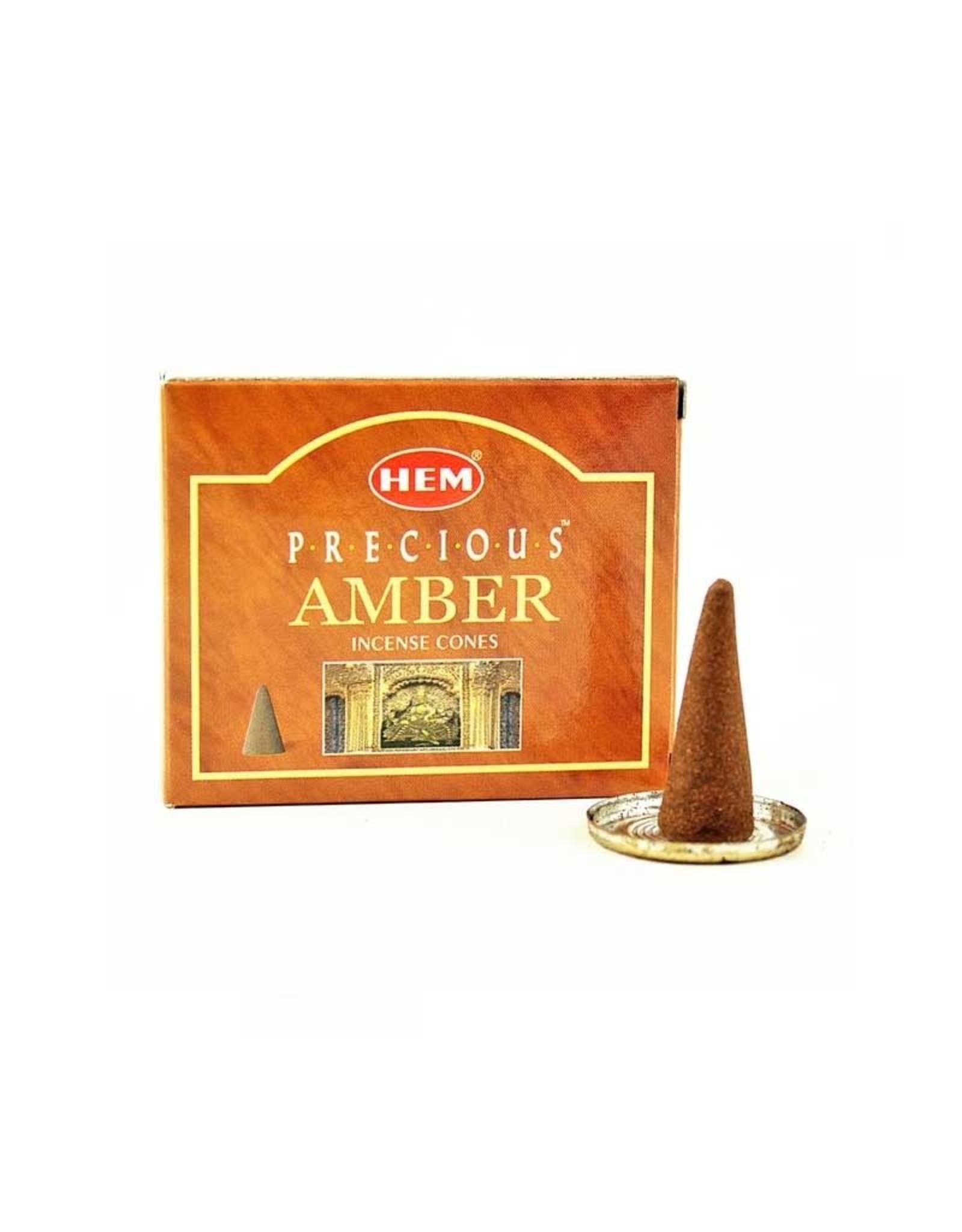 HEM Amber HEM Incense Cones