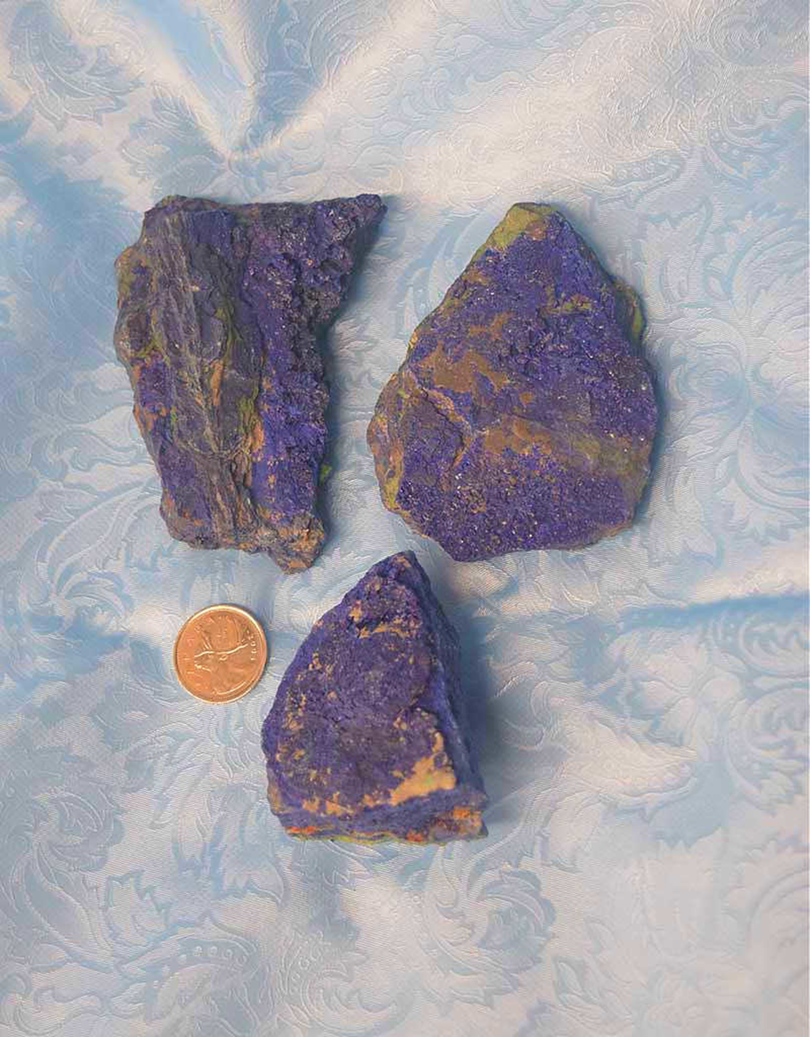 Azurite with Malachite Raw $47