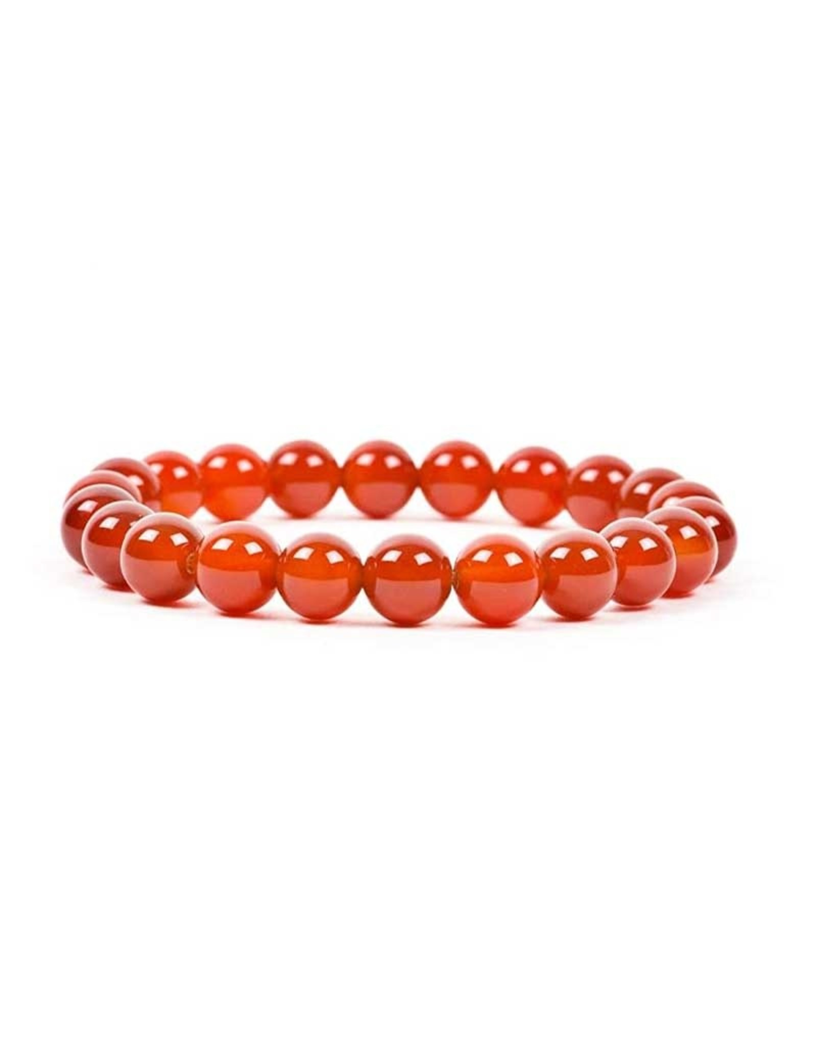 Carnelian 8MM Bracelet